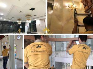 Bóng dáng áo vàng của đội ngũ kỹ thuật An Phước xuất hiện khắp mọi miền tổ quốc