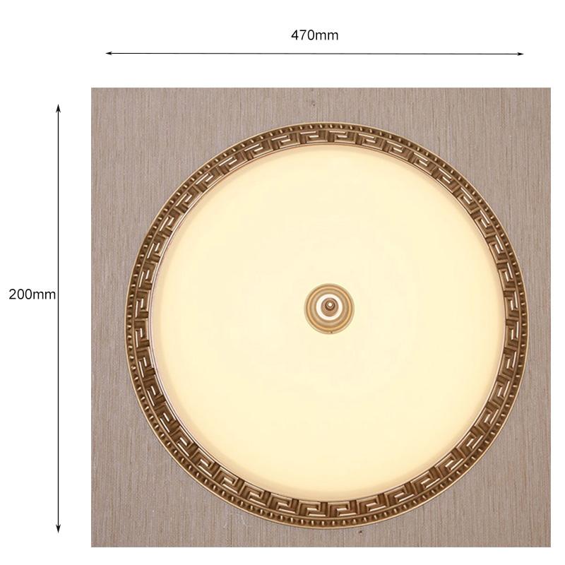 Đèn áp trần đồng – AP8610/D470
