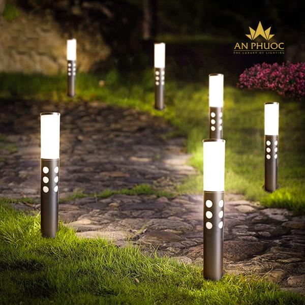Đèn sân vườn LED ánh sáng vàng – AP H9356/600