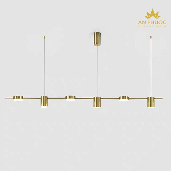 Đèn thả bàn ăn màu vàng – AP1083YL