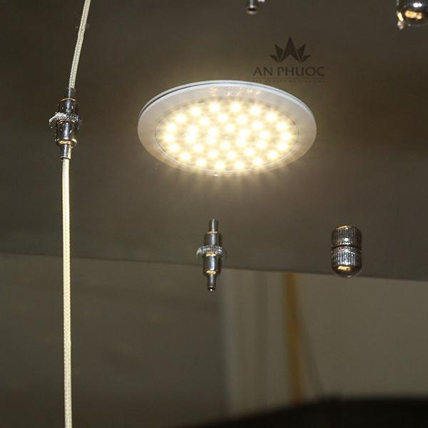 Đèn thả hiện đại pha lê – AP9009