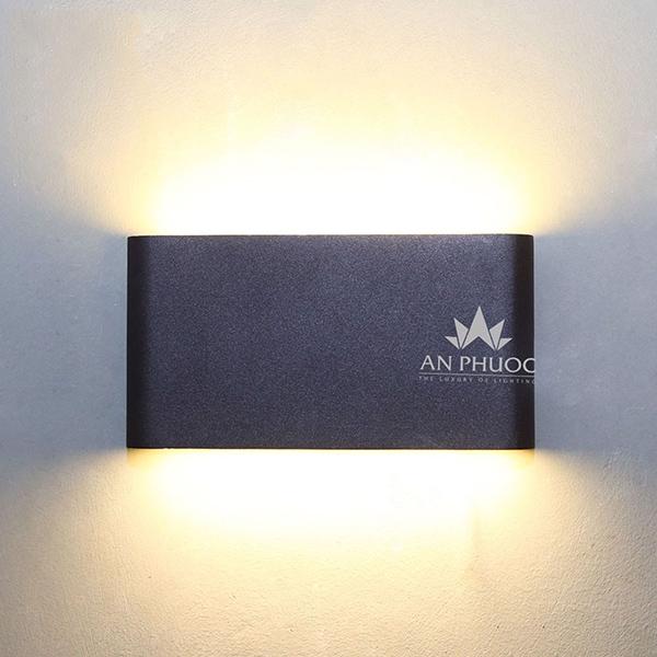 Đèn tường ngoại thất LED đen – CB0602-2