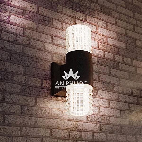 Đèn tường ngoại thất LED – GN-B04-2 BK-ASTT