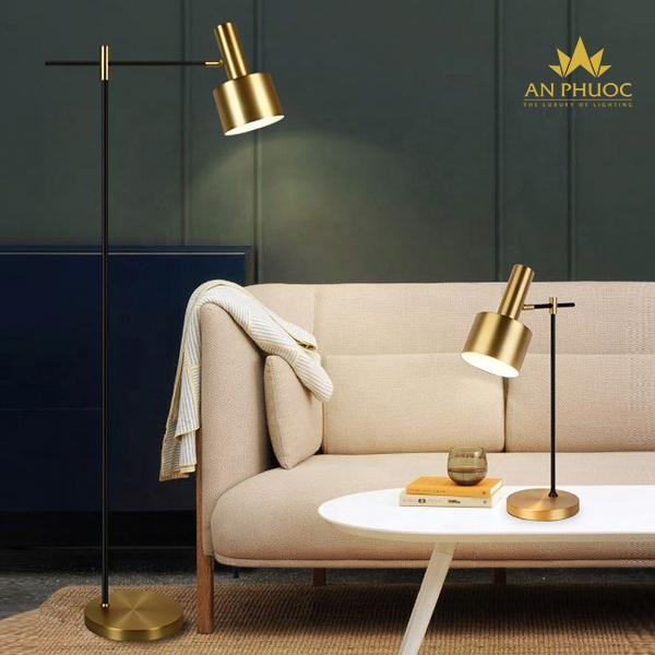 Đèn sofa phòng khách hiện đại cho nhà chung cư