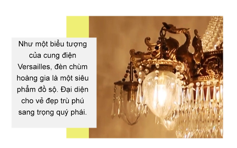 Đèn chùm châu Âu cổ điển APC/D1200