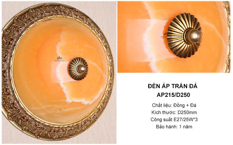 Đèn ốp trần AP215/D250