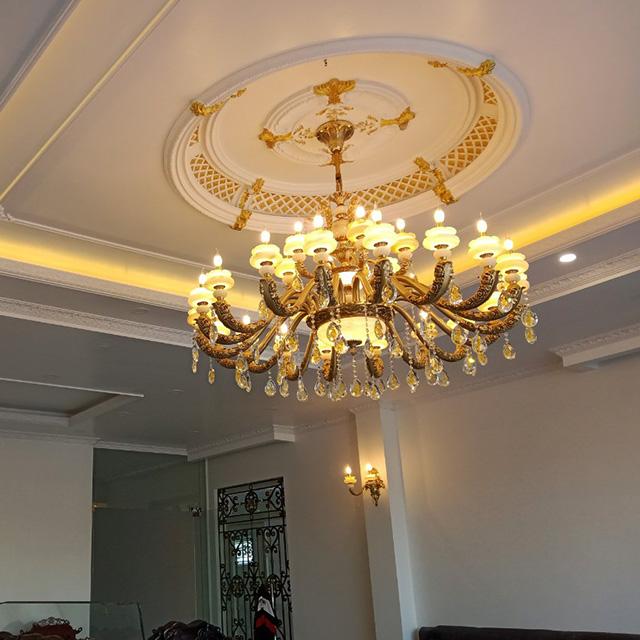 Công trình đèn chùm thực tế được lắp đặt bởi An Phước1