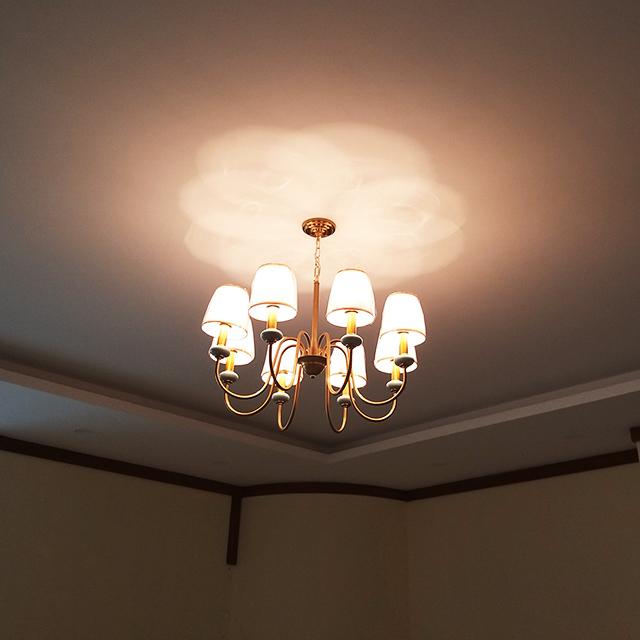 Đèn chùm đơn giản mang phong cách hiện đại1