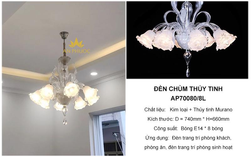 Đèn chùm thả trần – AP70080/8L
