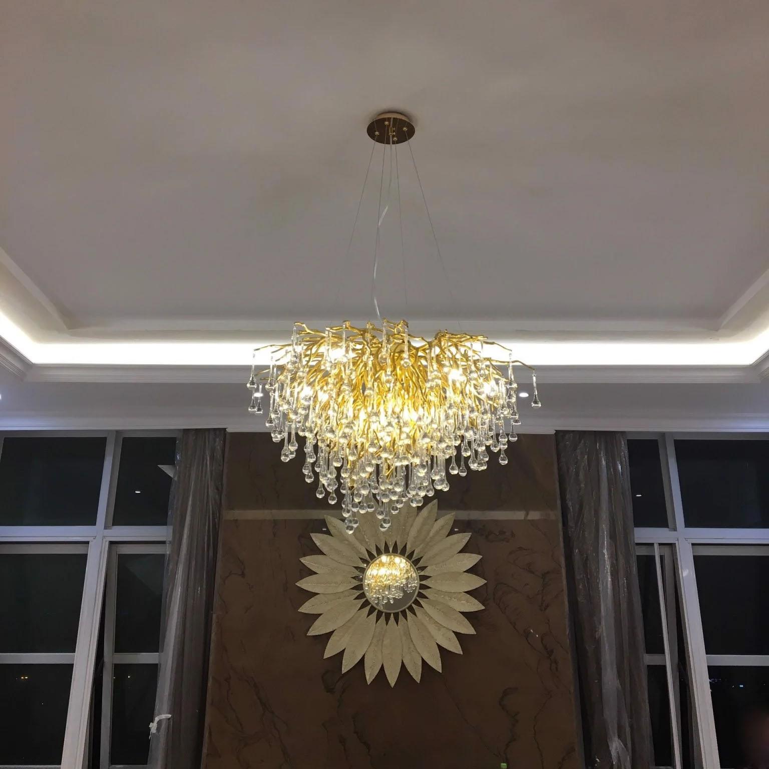 Bộ sưu tập đèn thả lưu ly tinh xảo1