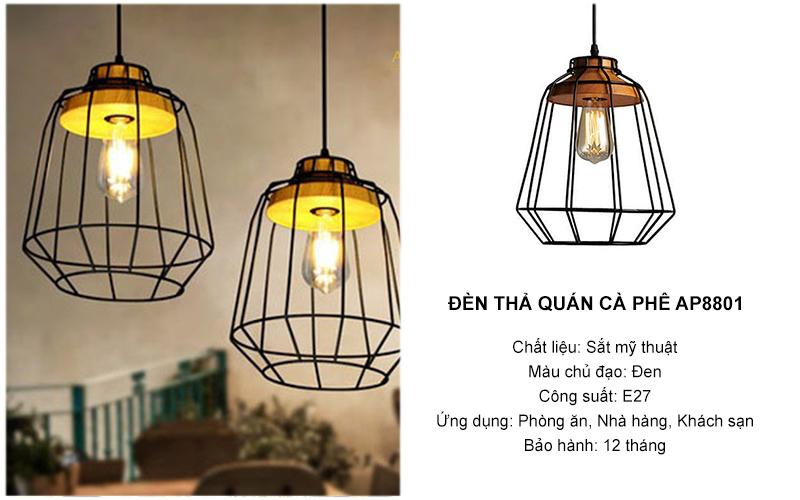Đèn thả quán cafe AP8801