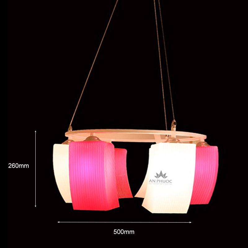 Đèn thả hiện đại thủy tinh AP1393-6B