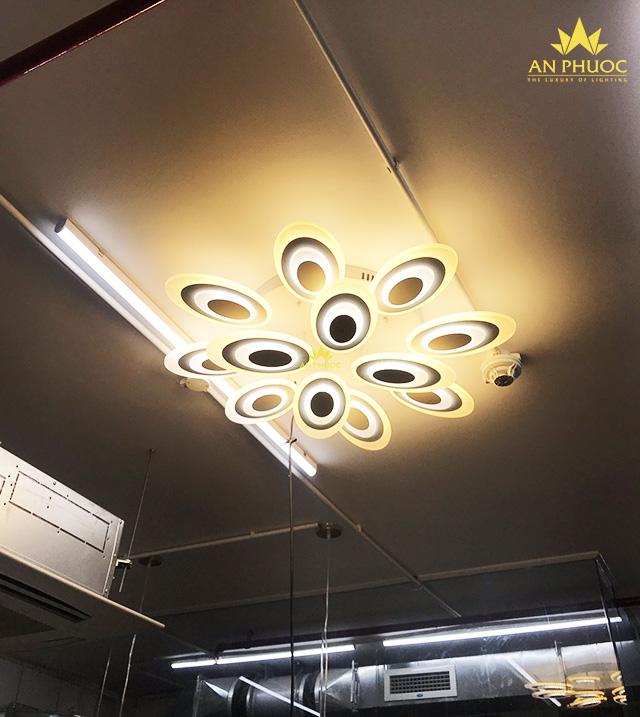 Các mẫu đèn ốp trần LED Hot nhất1