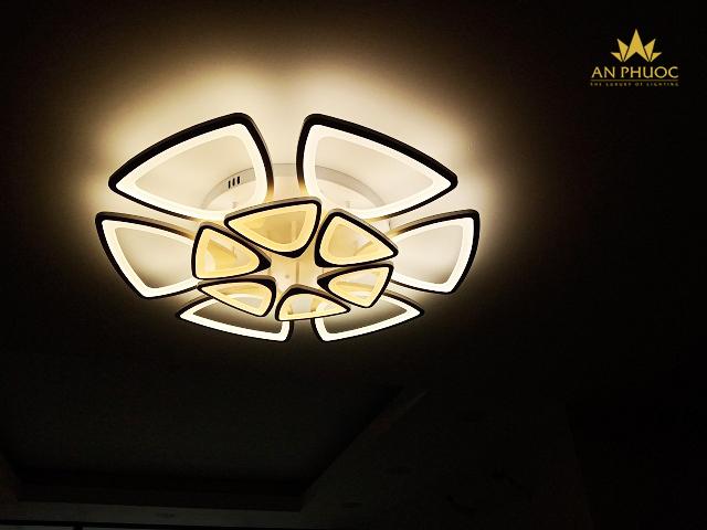 Đèn ốp trần LED tiết kiệm và đa dạng kiểu dáng 1