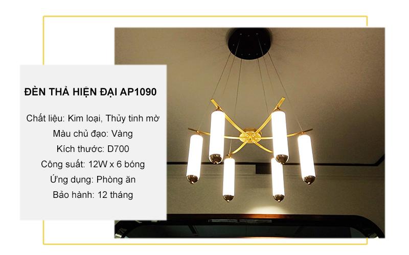 Đèn thả bàn ăn xu hướng hiện đại – AP1090
