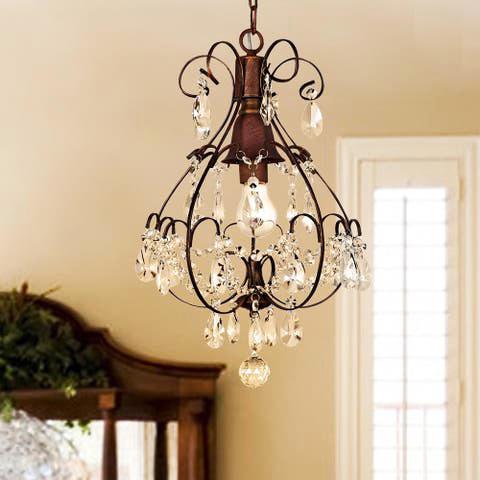 Đèn thả trần cổ điển mang nhiều chi tiết mềm mại 1