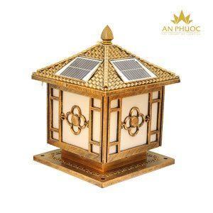 Đèn trụ cổng năng lượng mặt trời 112020A D250