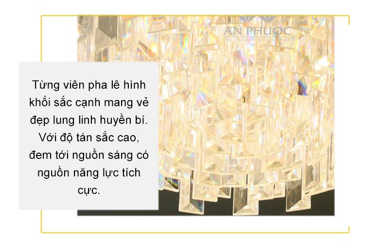 Đèn áp trần pha lê – AP96006/500