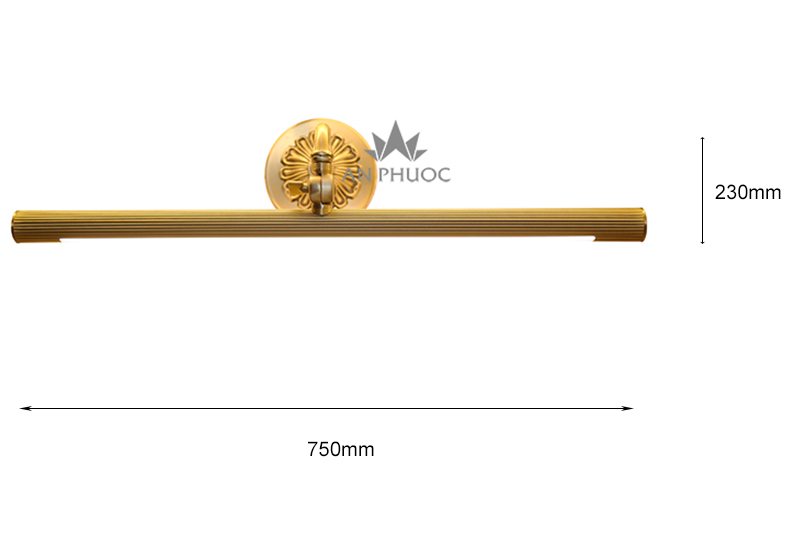 Đèn soi tranh tân cổ điển – AP1341/15W 4200K