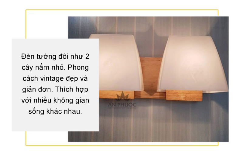 Đèn tường thủy tinh – MB6025/2