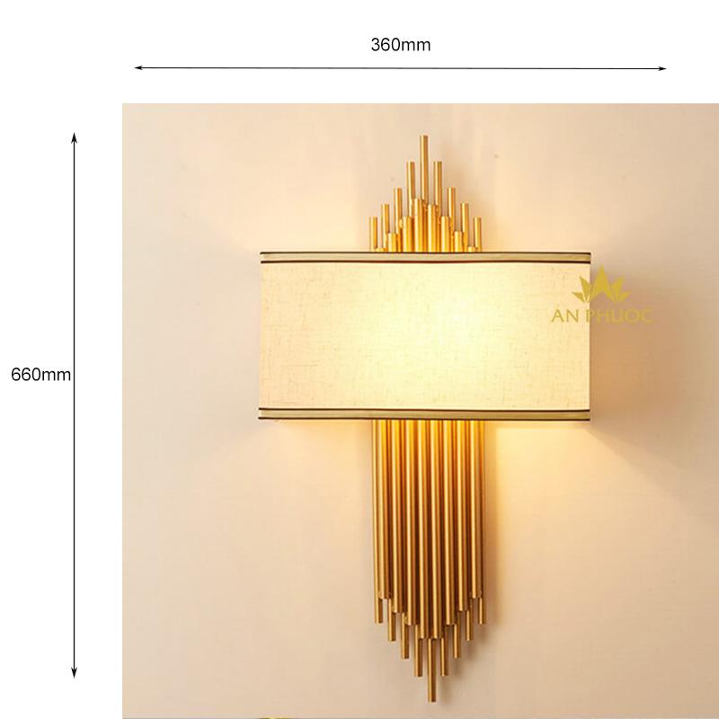 Đèn tường hiện đại chao vải – TY033-X