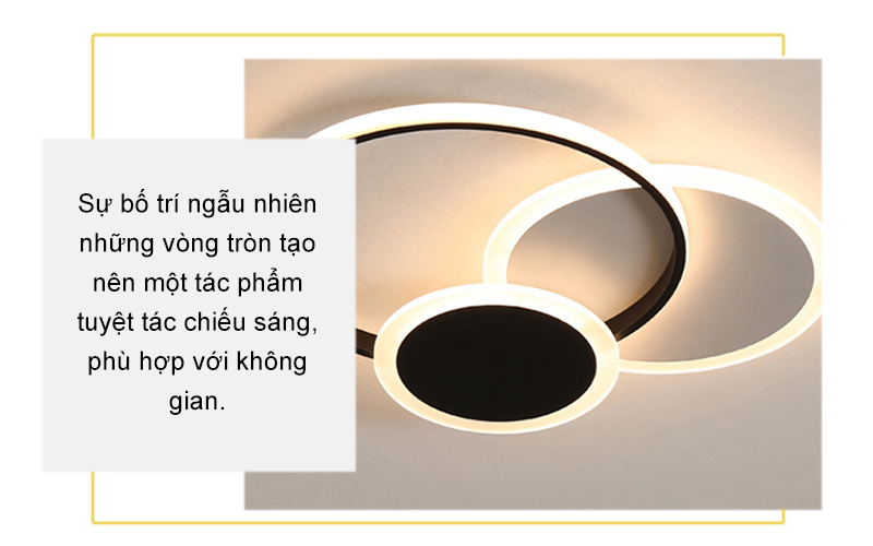 Đèn hiện đại Led áp trần – AP8009