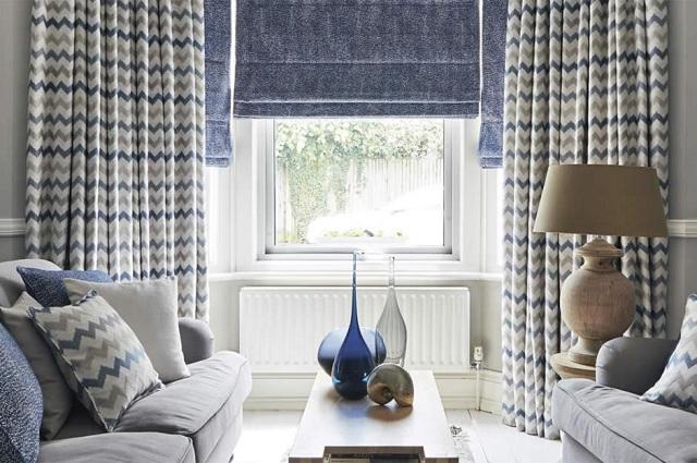 Hé lộ những công thức chọn lựa rèm phòng khách ấn tượng