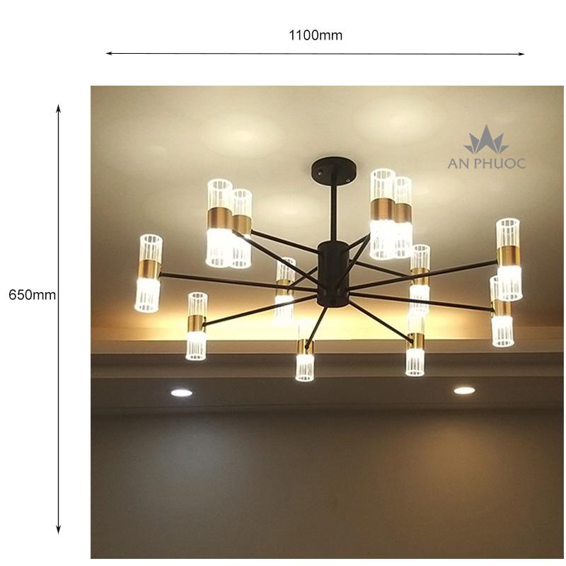 Đèn chùm hiện đại – 1095-8+4