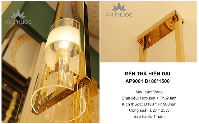 Đèn thả hiện đại – AP9061 D180*1500