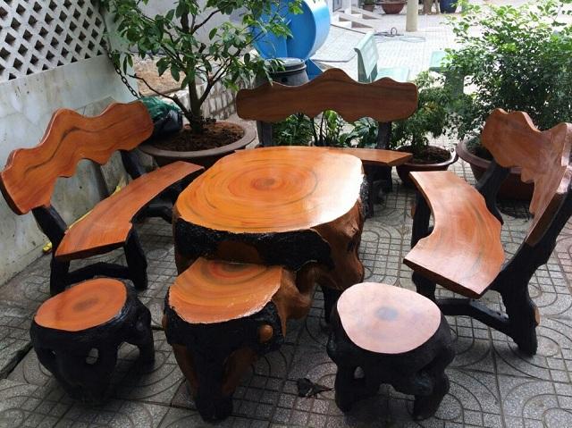 cách làm bê tông giả gỗ | Món Miền Trung