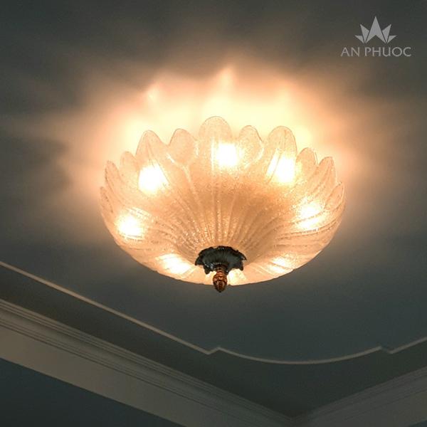 Đèn áp trần thuỷ tinh Murano – 99215-600