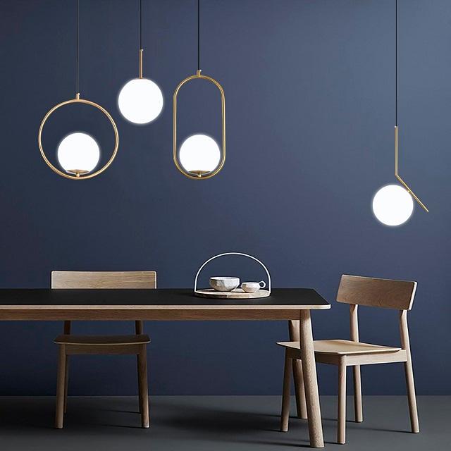 Những thiết kế đèn bóng tròn mà bạn không thể nào bỏ qua